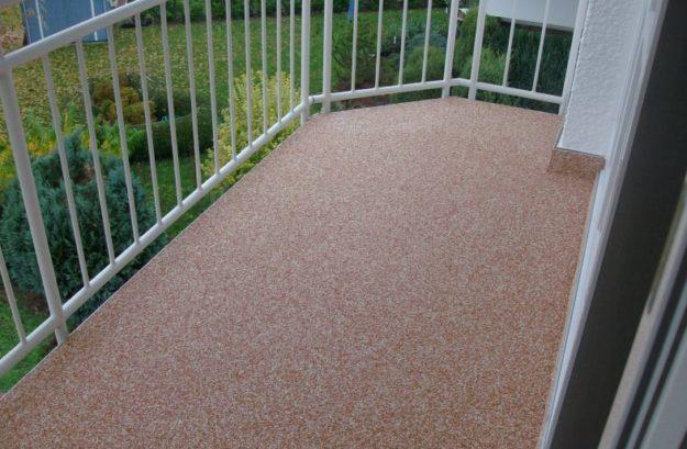 Relativ Bodenbeschichtung & Balkonsanierung mit Colorquarz - Martin Bauservice KR77